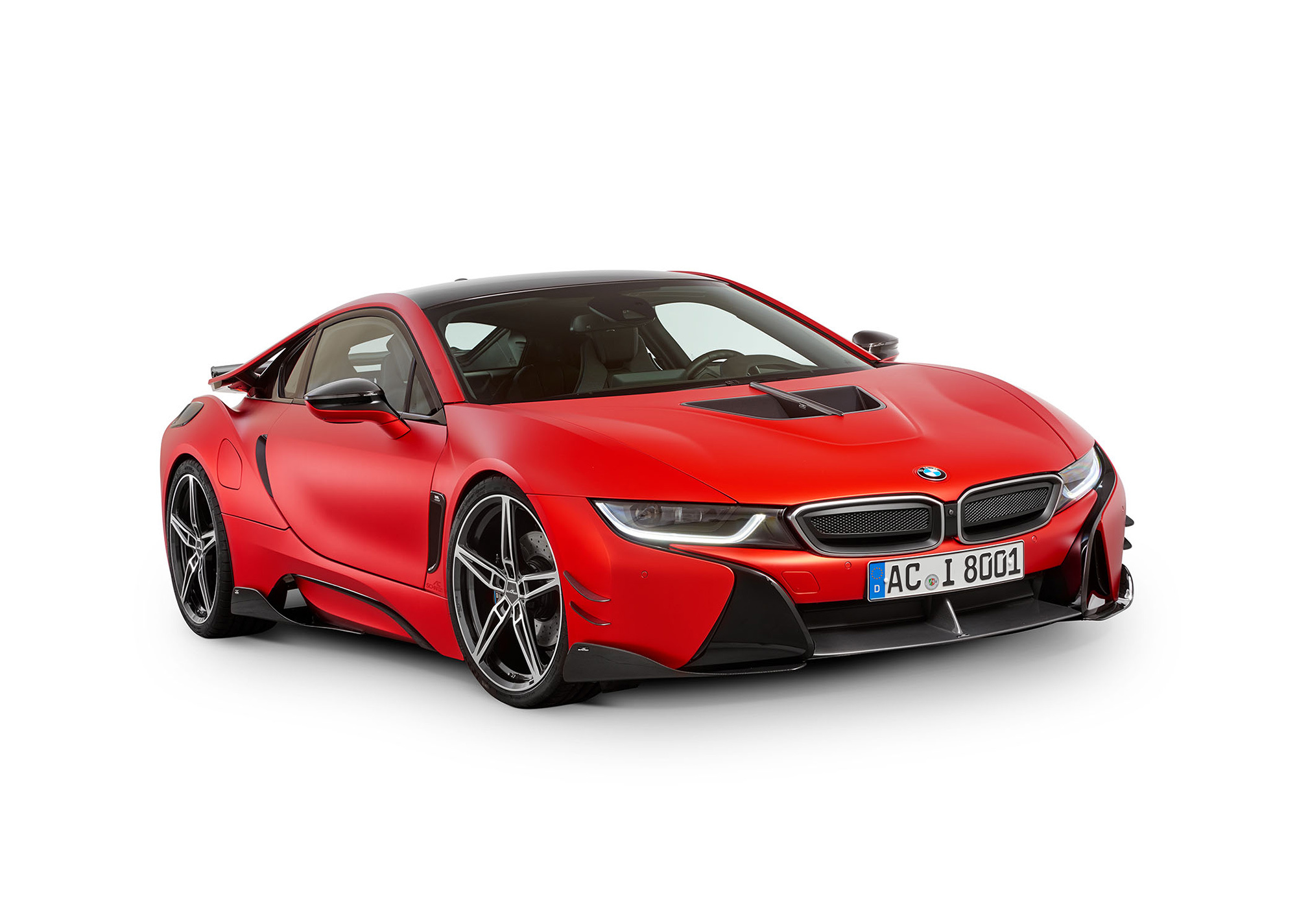Купе BMW i8 от бюро AC Schnitzer