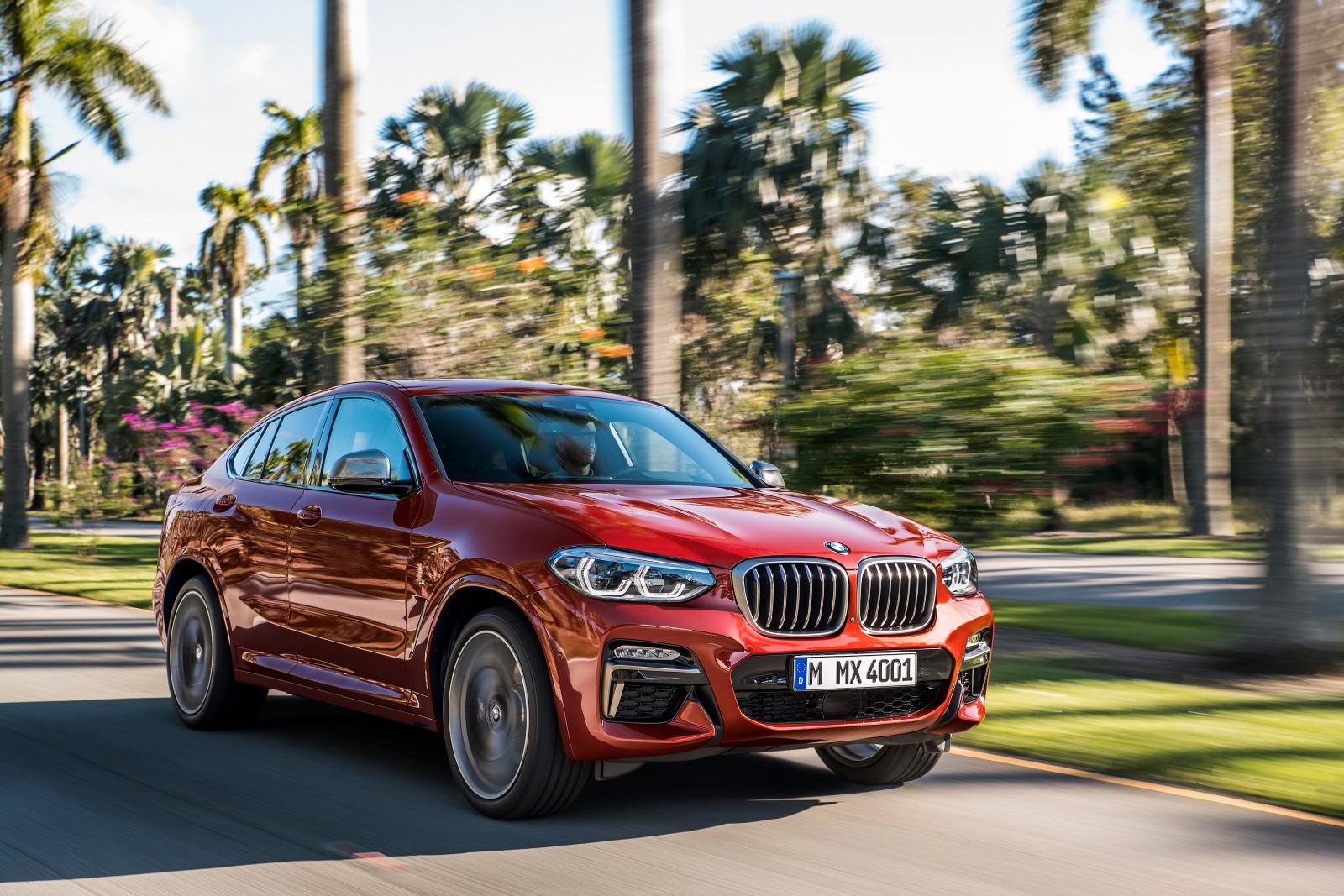 обновленный BMW X4 2018