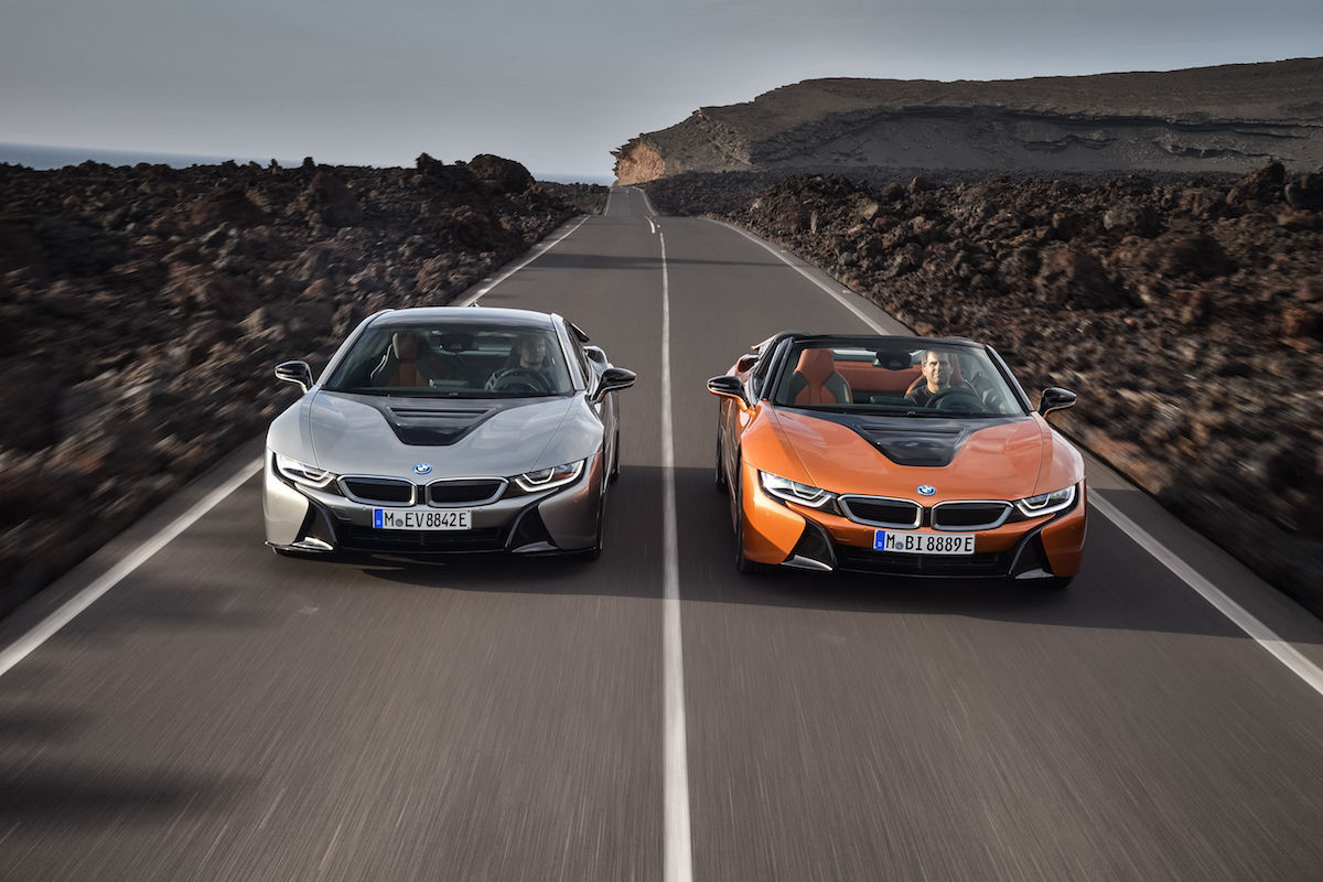 BMW i8 Roadster и BMW i8 Coupe