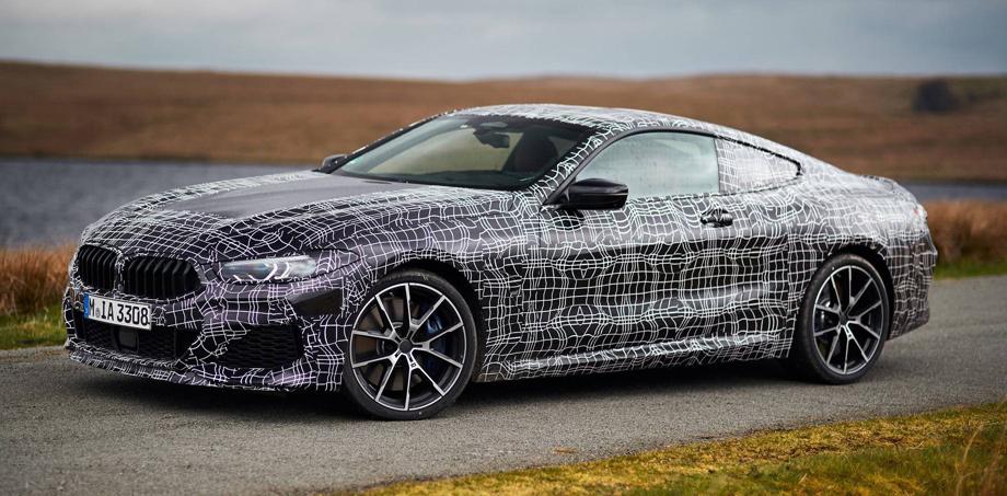 параметры двигателя модели BMW M850i