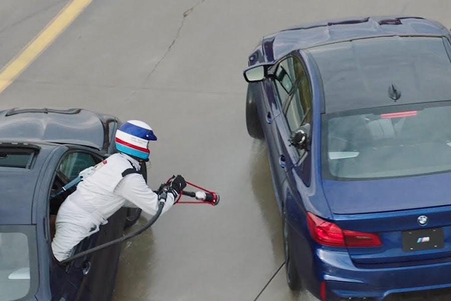 BMW e38 замена передних рычагов