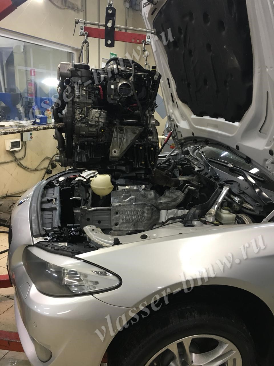 Техцентр Влассер, ремонтируем двигатель БМВ