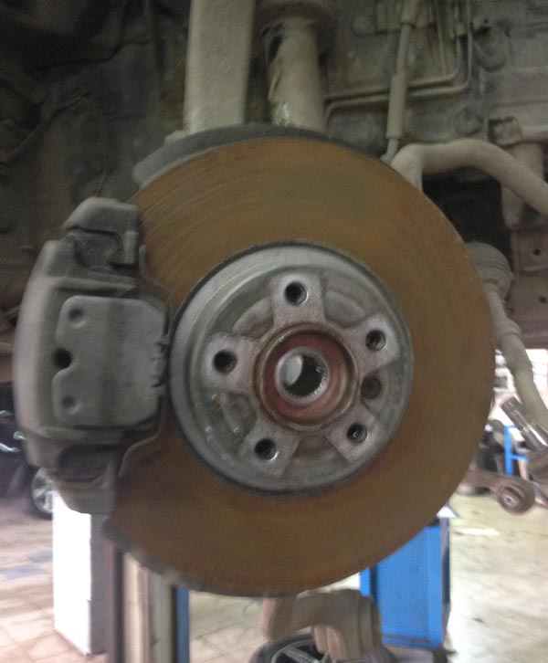 Ремонт тормозной системы БМВ
