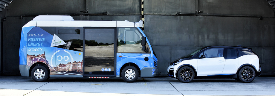 Микроавтобус Jest Electric от Karsan
